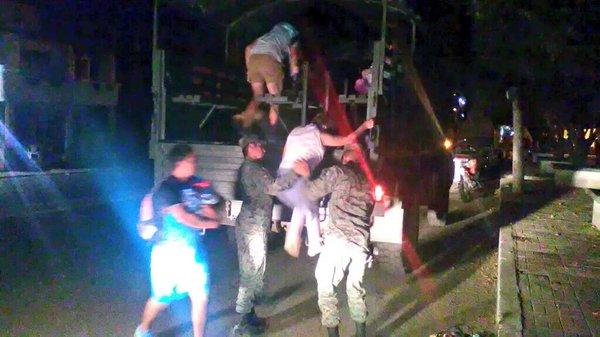 bahia evacuation