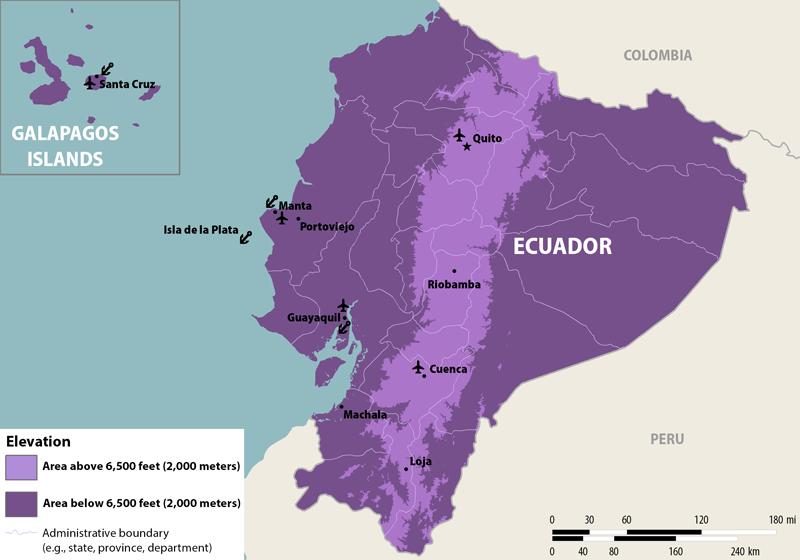 Ecuador At Level Ii Alert For Zika Virus Transmission Per Cdc