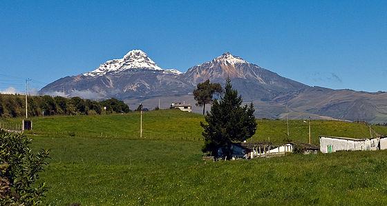 illinizas volcano