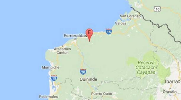 Esmeraldas quake
