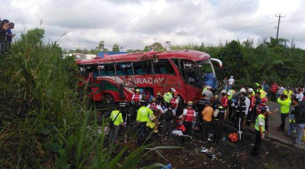 BUS ACCIDENT ECUADOR