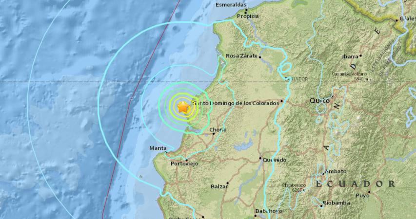 6.3 quake ecuador